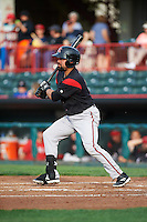 Richmond Flying Squirrels catcher Eliezer Zambrano (2) during a game against the Erie SeaWolves on May 27, 2016 at Jerry Uht Park in Erie, Pennsylvania.  Richmond defeated Erie 7-6.  (Mike Janes/Four Seam Images)