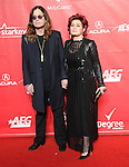 Ozzy Osbourne and Sharon Osbourne attends The 2014 MusiCares Person of the Year Dinner honoring Carole King at the Los Angeles Convention Center, West Hall  in Los Angeles, California on January 24,2014                                                                               © 2014 Hollywood Press Agency
