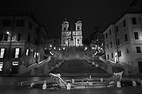 Piazza di Spagna (Spanish Steps).<br />