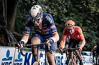 Tim Merlier (BEL/Alpecin-Fenix) up the Kemmelberg<br /> <br /> 82nd Gent-Wevelgem in Flanders Fields 2020 (1.UWT)<br /> 1 day race from Ieper to Wevelgem (232km)<br /> <br /> ©kramon