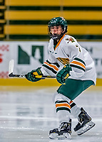 1 December 2018: University of Vermont Catamount Forward Kristina Shanahan, a Sophomore from Ste-Anne-de-Bellevue, Québec, in first period action against the University of Maine Black Bears at Gutterson Fieldhouse in Burlington, Vermont. The Lady Cats defeated the Lady Bears 3-2 in the second game of their 2-game Hockey East series. Mandatory Credit: Ed Wolfstein Photo *** RAW (NEF) Image File Available ***