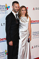 LOS ANGELES, CA, USA - OCTOBER 11: Benjamin Millepied, Natalie Portman arrives at the Children's Hospital Los Angeles' Gala Noche De Ninos 2014 held at the L.A. Live Event Deck on October 11, 2014 in Los Angeles, California, United States. (Photo by Xavier Collin/Celebrity Monitor)