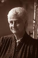 Susanna Agnelli è stata un'imprenditrice, politica e scrittrice italiana. Ha ricoperto vari incarichi politici, Ministro degli Esteri a sindaco di Monte Argentario. Milano, 14 giugno 1990. Photo by Leonardo Cendamo/Gettyimages