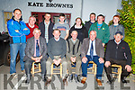 Members of the Kerry Ploughing Association who are heading to Carlow to the National Ploughing Championships.<br /> Seated l to r: Michael Fitzmaurice, Brendan Blackwell (County Sec), Thomas Healy (Chairman), Tom O'Mahoney (PRO) and Aeneas Horan.<br /> Back l to r: Tommy McCarthy, Michael Brosnan, Patrick Boyle, Michael J Donegan, Martina Flynn, Michael P Donegan, Derek O'Driscoll and Daniel Burke.