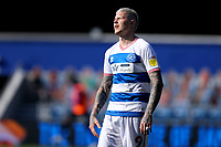 24th April 2021; The Kiyan Prince Foundation Stadium, London, England; English Football League Championship Football, Queen Park Rangers versus Norwich; A dejected Lyndon Dykes of Queens Park Rangers who missed a penalty