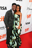LAMAR JOHNSON AND RACHEL HILSON - RED CARPET OF THE FILM 'KINGS' - 42ND TORONTO INTERNATIONAL FILM FESTIVAL 2017