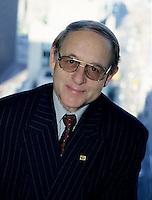 File Photo  Montreal (QC) CANADA<br /> Michel Audet, Finances Minister, Quebec Province (since Feb 18, 2005)<br /> Photo : Sevy / (c) Images Distribution