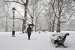 Great Britain, England, London: Snow in Green Park | Grossbritannien, England, London: der Green Park im Winter
