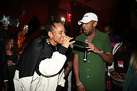 NEW YORK, NY- SEPTEMBER 12: Alicia Keys and Baby Cham pictured at Swizz Beatz Surprise Birthday Party at Little Sister in New York City on September 12, 2021. Credit: Walik Goshorn/MediaPunch