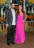 """LOS ANGELES, USA. October 11, 2019: Abigail Breslin & Ira Kunyansky at the premiere of """"Zombieland: Double Tap"""" at the Regency Village Theatre.<br /> Picture: Paul Smith/Featureflash"""