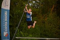 FIERLJEPPEN: GRIJPSKERK: 14-07-202, 1e klasse fierljeppen, Sytse Bokma, ©foto Martin de Jong