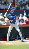 Toronto Blue Jays Devon White during Spring Training 1992 at Chain of Lakes Park in Winter Haven, Florida.  (MJA/Four Seam Images)