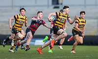 Monday 27th February 2017 | ULSTER SCHOOLS CUP SEMI-FINAL<br /> <br /> David McCann during the Ulster Schools Cup Semi-Final between RBAI and Ballymena Academy  at Kingspan Stadium, Ravenhill Park, Belfast, Northern Ireland. <br /> <br /> Photograph by John Dickson | www.dicksondigital.com