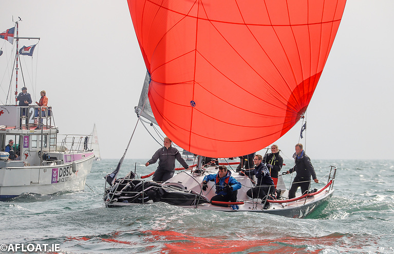 Jonny Swan at the helm of King One