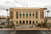 Las Vegas, Nevada.  National Museum of Organized Crime and Law Enforcement,  The Mob Museum, formerly the Federal Court House.