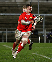 12 December 2020; Jake Flannery during the A series inter-pros series 20-21 between Ulster A and Munster A at Kingspan Stadium, Ravenhill Park, Belfast, Northern Ireland. Photo by John Dickson/Dicksondigital
