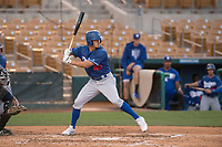 Los Angeles Dodgers right fielder Donovan Casey (48) during a Minor League Spring Training game against the Seattle Mariners at Camelback Ranch on March 28, 2018 in Glendale, Arizona. (Zachary Lucy/Four Seam Images)