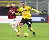 Milano 03-03-2021<br /> Stadio Giuseppe Meazza<br /> Serie A  Tim 2020/21<br /> Milan - Udinese<br /> nella foto: Becao                                                         <br /> Antonio Saia