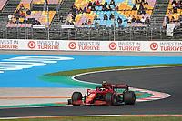 8th October 2021; Formula 1 Turkish Grand Prix 2021 free practise at the Istanbul Park Circuit, Istanbul;  Carlos Sainz Jr. ESP 55, Scuderia Ferrari Mission Winnow