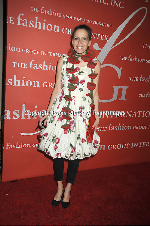 Marilyn Kirschner attends the Fashion Group International's 29th Annual  Night of Stars Gala on October 25, 2012 at Cipriani Wall Street in New York City.