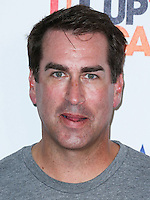HOLLYWOOD, LOS ANGELES, CA, USA - SEPTEMBER 05: Rob Riggle arrives at the 4th Biennial Stand Up To Cancer held at Dolby Theatre on September 5, 2014 in Hollywood, Los Angeles, California, United States. (Photo by Xavier Collin/Celebrity Monitor)