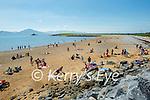 Large crowds on Fenit beach on Sunday