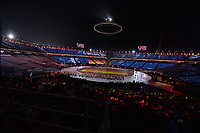 OLYMPIC GAMES: PYEONGCHANG: 09-02-2018, PyeongChang Olympic Stadium, Olympic Games, Opening Ceremony, Entrance Germany, ©photo Martin de Jong