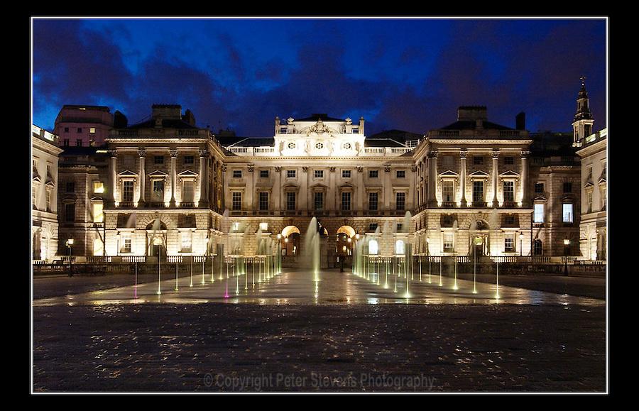 Somerset House (Built 1776-96) - Strand - London - 5th April 2004