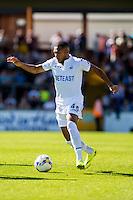 Kenji Gorre of Swansea City  in action during the Pre Season friendly match between Swansea City and Rovers played at the Memorial Stadium, Bristol on July 23rd 2016