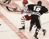 Jakob Forsbacka Karlsson (BU - 23), Scott Conway (PC - 10) - The Boston University Terriers tied the visiting Providence College Friars 2-2 on Saturday, December 3, 2016, at Agganis Arena in Boston, Massachusetts.
