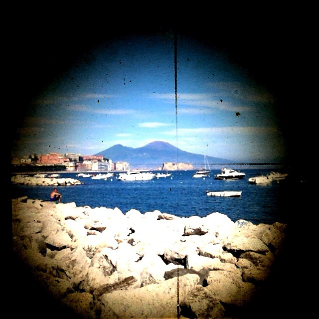 TTV Mount Vesuvius captured using iphone by Liisa Roberts.  Naples, Italy