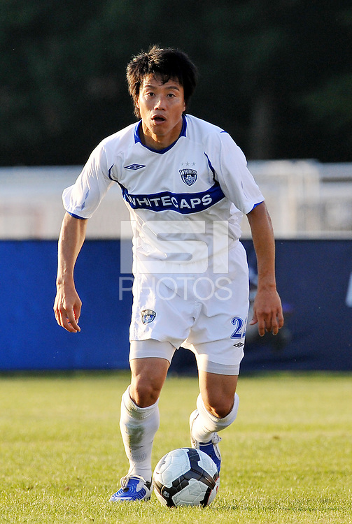 Takashi Hirano,Vancouver Whitecaps...AC St Louis and Vancouver Whitecaps played to a 0-0 tie at Anheuser-Busch Soccer Park, Fenton, Missouri.