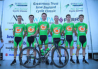 Oliver's Real Food Racing. 2019 Grassroots Trust NZ Cycle Classic UCI 2.2 Tour at St Peter's School in Cambridge, New Zealand on Tuesday, 22 January 2019. Photo: Dave Lintott / lintottphoto.co.nz