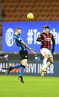 Milano  26-01-2021<br /> Stadio Giuseppe Meazza<br /> Coppa Italia Tim 2020/21<br /> Inter - Milan nella foto:   Brozovic Diaz                                                       <br /> Antonio Saia Kines Milano