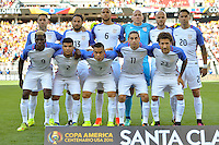 Santa Clara, CA - Friday June 03, 2016: United States Starting Eleven during a Copa America Centenario Group A match between United States (USA) and Colombia (COL) at Levi's Stadium.