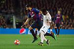 UEFA Champions League 2018/2019.<br /> Quarter-finals 2nd leg.<br /> FC Barcelona vs Manchester United: 3-0.<br /> Luis Suarez vs Fred.