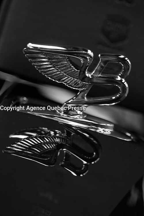 BENTLEY <br /> 2016 model at Montreal car show. January 15, 2016<br /> <br /> Photo : Pierre Roussel - Agence Quebec Presse<br /> <br /> <br /> <br /> <br /> <br /> <br /> <br /> <br /> <br /> <br /> <br /> .