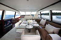 luxury boat lounge