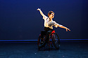 London, UK. 09.05.2018. Step Change Studios present their ballroom show Fusion, at Sadler's Wells' Lilian Baylis Studio. Fusion is the UK's first inclusive Latin and ballroom dance showcase by disabled and non-disabled artists, drawing on different dance influences such as swing and contemporary to develop original pieces inspired by Latin and ballroom. Picture shows: BALLROOM SOLO, created and performed by Joe Powell-Main. Photograph © Jane Hobson.