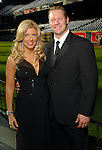 Pamela and Jason Michaels at the Astros Wives Gala at Minute Maid Park Thursday Aug. 06, 2009.(Dave Rossman/For the Chronicle)