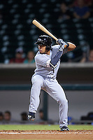 Peoria Javelinas Kean Wong (1), of the Tampa Bay Rays organization, during a game against the Mesa Solar Sox on October 15, 2016 at Sloan Park in Mesa, Arizona.  Peoria defeated Mesa 12-2.  (Mike Janes/Four Seam Images)