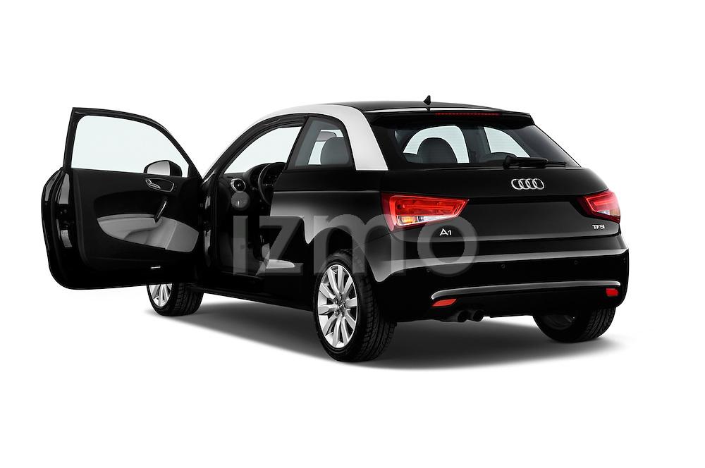 Rear three quarter door view of a 2014 Audi A1 Ambition 3 Door Hatchback 2WD