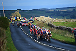 The peloton in action during the Men U23 Road Race of the UCI World Championships 2019 running 186.9km from Doncaster to Harrogate, England. 27th September 2019.<br /> Picture: Pauline Ballet/SWpix.com | Cyclefile<br /> <br /> All photos usage must carry mandatory copyright credit (© Cyclefile | Pauline Ballet/SWpix.com)