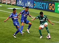 São Paulo (SP), 11/03/2021 - Palmeiras-Santo André - Partida entre Palmeiras e Santo André válida pelo Campeonato Paulista na noite desta quinta-feira (11) no Allianz Parque em São Paulo.