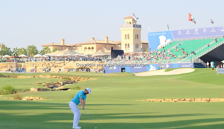 Bernd WIESBERGER (AUT) during round one of the 2016 DP World Tour Championships played over the Earth Course at Jumeirah Golf Estates, Dubai, UAE: Picture Stuart Adams, www.golftourimages.com: 11/17/16