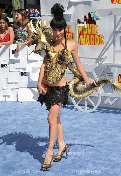 Bai Ling at the 2015 MTV Movie Awards at the Nokia Theatre LA Live.<br /> April 12, 2015  Los Angeles, CA<br /> Picture: Paul Smith / Featureflash