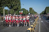 end of Tour vibes<br /> <br /> Stage 21 (Final) from Chatou to Paris - Champs-Élysées (108km)<br /> 108th Tour de France 2021 (2.UWT)<br /> <br /> ©kramon