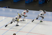 SPEEDSKATING: 22-11-2019 Tomaszów Mazowiecki (POL), ISU World Cup Arena Lodowa, Team Sprint Men (GER), ©photo Martin de Jong