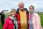 Supporting Kilmoyley at the Kerry Senior Hurling Championship Final on Sunday in Austin Stack Park were l-r: Geraldine and Denis Hennessy and Cathriona McCarthy.