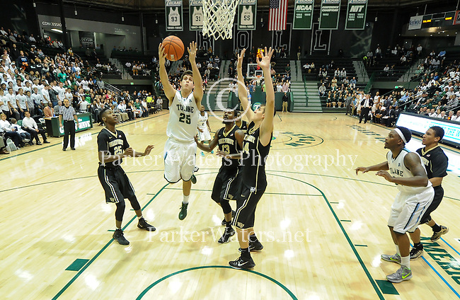 Tulane falls to Wake Forest, 71-49, in their season opener at Devlin Fieldhouse.